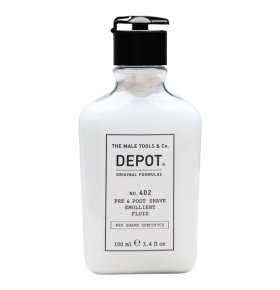 Depot NO.402 PRE & POST SHAVE EMOLLIENT FLUID